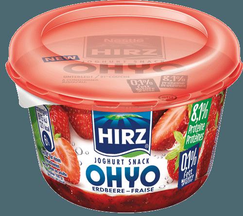 Joghurt Snack OHYO Erdbeere