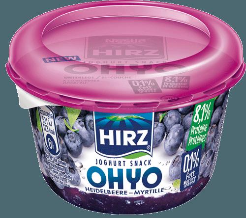 Joghurt Snack OHYO Heidelbeere