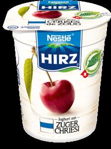 Yoghurt mit Zuger Chriesi