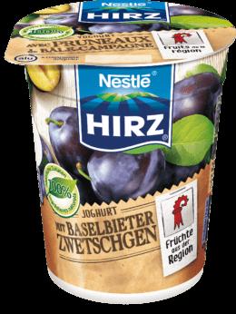 Joghurt mit Baselbieter Zwetschgen
