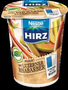 Joghurt mit Luzerner Rhabarber