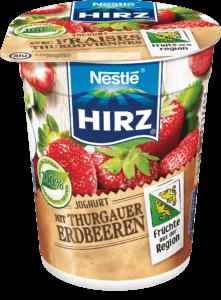 Yogourt fraises Thurgoviennes