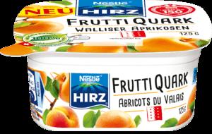 Frutti Quark Abricots du Valais 125g