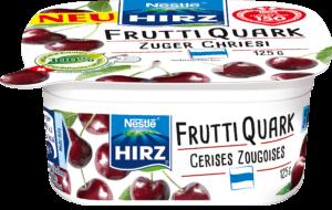Frutti Quark Cerises Zougoises 125g