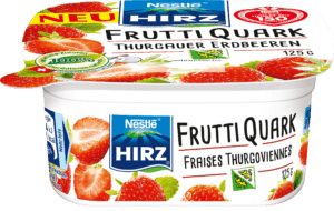 Frutti Quark Fraises Thurgoviennes 125g