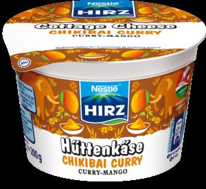 HIRZ Hüttenkäse Chikibai Curry