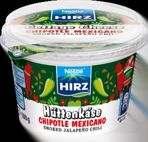 HIRZ Hüttenkäse Chipotle Mexicano